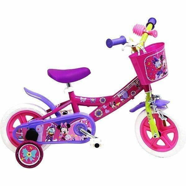 Bicicleta con licencia Minnie y Disney para niños