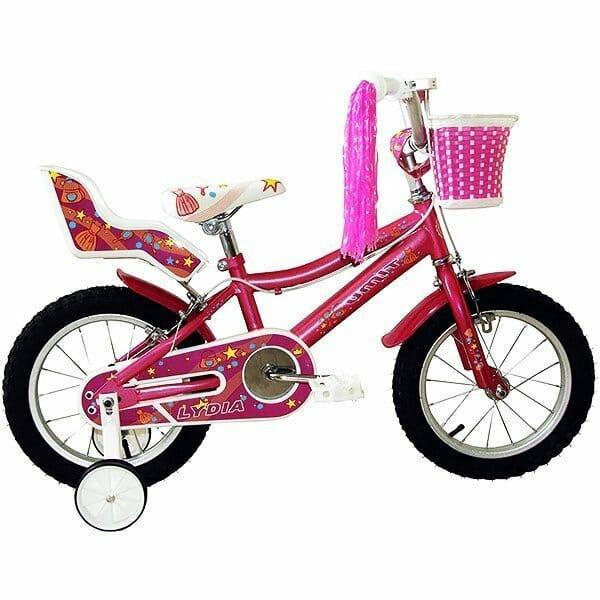 Umit Bicicleta 14 Lydia, Niñas, Rosa, Infantil