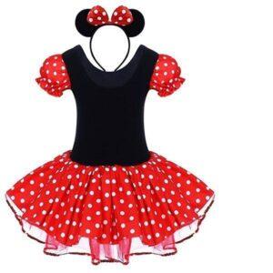 Disfraz Infantil De Minnie Mouse
