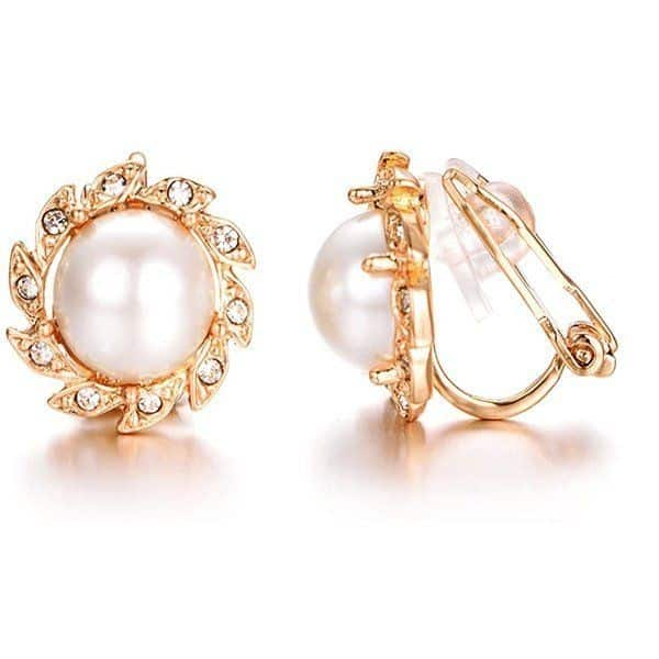 Pendientes de Perlas Para Niñas