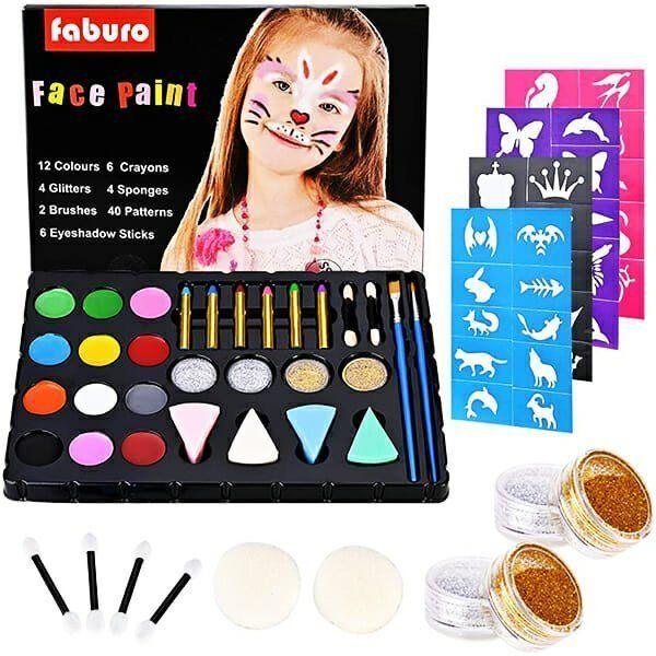 Pinturas Faciales Para Niñas