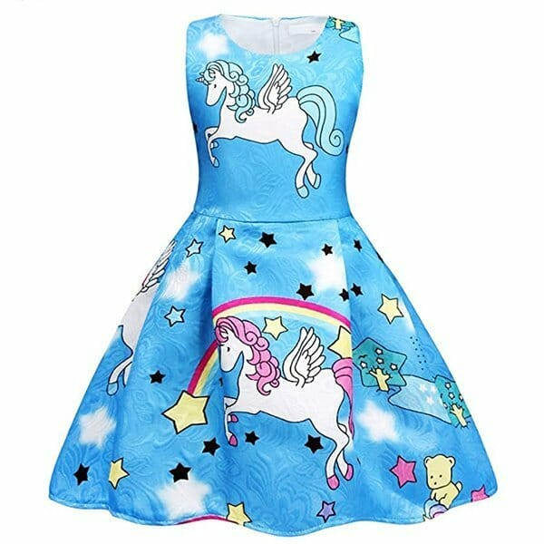 Precioso vestido sin mangas para niñas