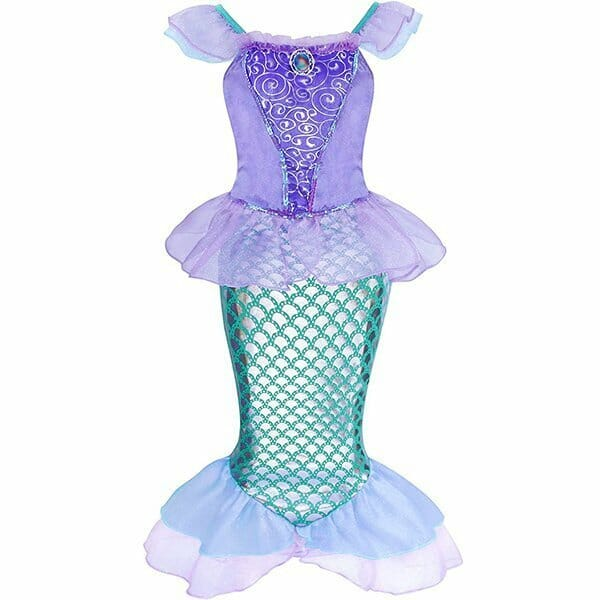 Vestido Disfraz de Sirena para Niña