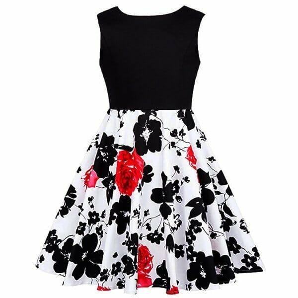 Vestido Vintage de Niñas Años 50