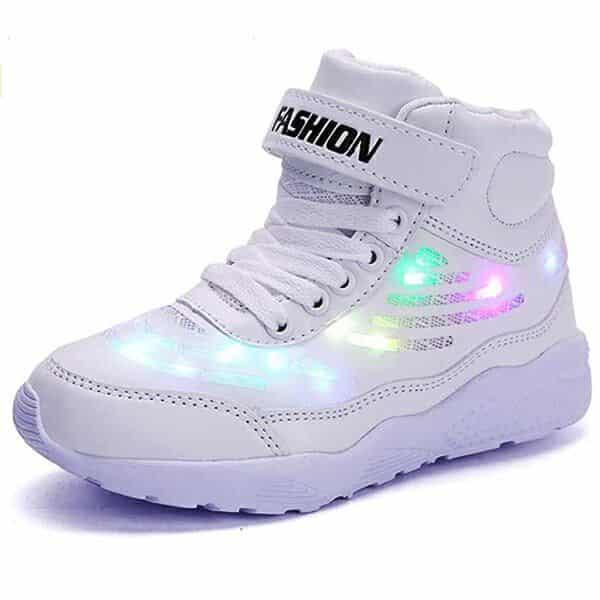 Zapatillas Deportivas Con Luces De Colores
