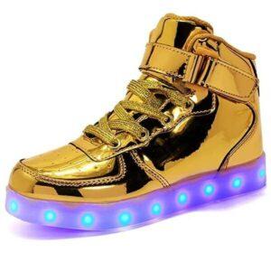 Zapatos Con Luces de 7 Colores