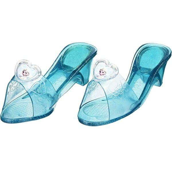 Zapatos Con Purpurina De La Princesa Elsa