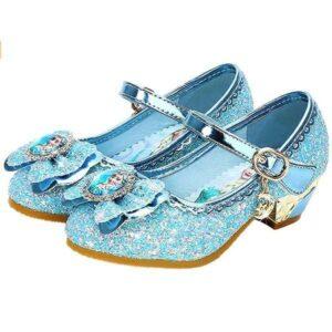 Zapatos (Frozen) De La Princesa Elsa